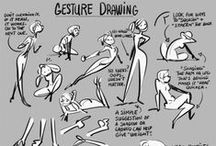 Life Drawing Tutorials / Ideas, suggestions, examples and tutorials for life drawing. Note: I have separate boards for anatomy and proportions