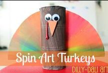 Thanksgiving Crafts / Great creative ideas for DIY crafts for Thanksgiving.