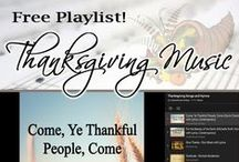 Thanksgiving Songs / Classic Christian songs and hymns for Thanksgiving.