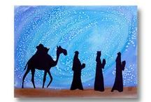Epiphany/ Three Kings Traditions / Ideas for celebrating Epiphany/ Three Kings Day on January 6.
