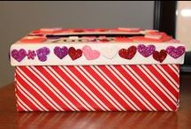 Valentines Card Holders / Creative ideas for DIY Valentine card holders.