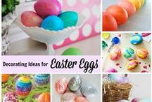 Easter Egg Decorating / Creative ideas for Easter egg decorating.