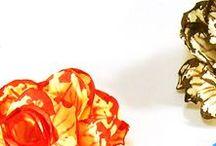 Progetto #36 / [DECORAZIONE FAI DA TE] Tutorial Rosa in cartoncino con struttura