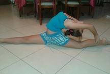 Rhthmics gymnastics