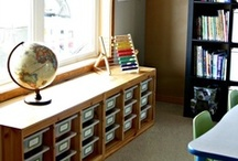 Learning Spaces / In-home classroom ideas