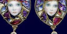 Jewellery / jewellery - art nouveau, crystals, contemporary, fairy kei and gothy stuff.