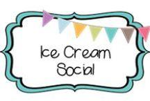 {GREAT ENDEAVOR} ice cream social