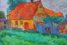 Oil paintings by Vitali Komarov