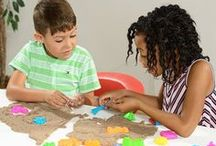 Sand Play / This is what every child wants - Sands of different kinds are out there for kids to mold, pretend and play with their friends. Here are some of the hot sand products that are available for kids to enjoy!