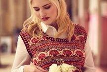 Женское спицами / Вязание спицами для женщин: платья, пуловеры, жакеты, юбки, топы, носочки, шапки. шарфы и пр.
