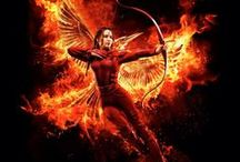 "Hunger games / ""Hope is the only thing stronger than fear."""