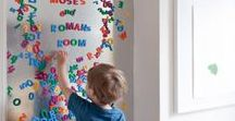 Playroom Ideas / Fun ideas to keep the playroom organized and interactive for the kids!