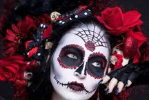 *Halloween party//DIY* / #Halloween #party #DIY #makeup #costume #skulls #death #dead #rock #skeleton #disguise