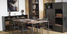 Table design - crystal et bois de suar / Des petits meubles d'appoint en suar et acier inoxydable. Précurseurs et dénicheurs depuis toujours, nous avons déniché pour vous de véritables pépites.