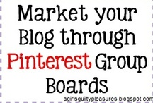 Blogging Tips and Tricks Group Board / Please join this group board and invite all of your friends!  Request to join at: http://agirlsguiltypleasures.blogspot.com/2012/10/market-your-blog-and-interests-through.html   OR http://www.facebook.com/pages/A-Girls-Guilty-Pleasures-Blog/409988539068132 --Like my page!