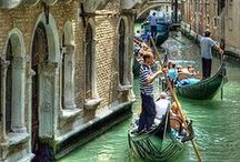 In and around Venice ~ Italian dreams / Dreaming of a Gondola ride in the canals?  Come explore Venice and the area with RoutePerfect. Click here to get some great trip ideas and start planning your next trip! RoutePerfect.com