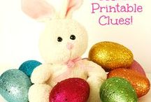 Easter Crafts and Activities / Lots of crafts, art projects and activities for Easter for preschoolers and other young children!