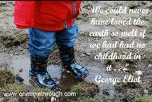 Favourite Quotes / Inspirational quotes for life with little ones. Parenting, curiosity, creativity, etc.