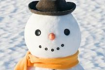 Winter Kids Crafts & Activities / Crafts for kids that are Winter-themed or that involve snow. Things to do inside during the winter and outside winter activities.
