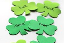 St. Paddy's Day Fun / A collection of crafts, activities, games and art ideas for celebrating St. Patrick's Day with kids.