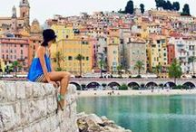 Discover the French Riviera ~ Viva La France! / Relax and enjoy Cote d'Azur beautiful beaches. Come explore France with Routeperfect! Get some great trip ideas and start planning your next trip! See More: RoutePerfect.com