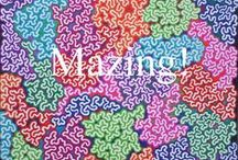 Mazings / A Mazing. Can you beat the maze? Art you can follow.