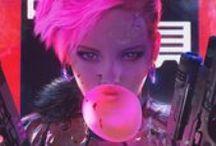 Cyberpunk Inspiration / For the Next Dark Future.