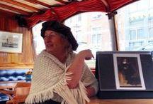 #RembrandtCruise / Voor de Canal Company twitterden we zes keer over de speciale  theatercruise die ter gelegenheid van de Late Rembrandt tentoonstelling in het Rijksmuseum ieder weekend vaart (21 februari t/m 17 mei 2015)
