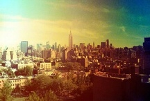New York New York !! / A board to show one of my favourite city's on earth.  / by Sophie Charlton