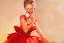 Pinup Girls / When life was simple and the drawings were beautiful...