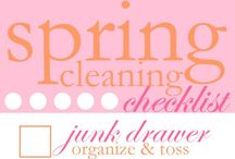 Organize cleaning