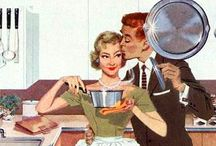 1950's Housewife / When life was simpler, and women ran the home...