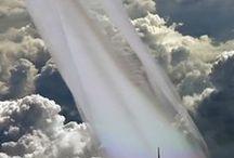 Ciel (nuages, éclairs)