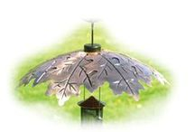 Squirrel Baffles & Weather Domes / Protect your bird feeders