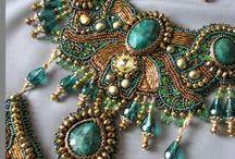 beadworks / koralikowanie i shibori / beads, beading, beadembroidery