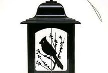 Hopper Feeders-Metal / Metal hoppers style bird feeders