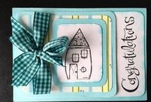 New Home / Cards, digistamps, text