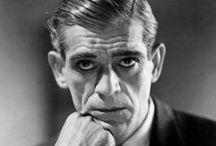 Boris  Karloff / William Henry Pratt (23 de noviembre de 1887 – 2 de febrero de 1969), conocido como Boris Karloff, fue un actor británico famoso por sus papeles en películas de terror. Karloff participó en numerosas películas mudas, antes de aparecer como el monstruo de Frankenstein en Frankenstein (1931), la película que le convirtió en estrella y que rodó gracias a que Béla Lugosi rechazó el papel. Un año después interpretó a otro personaje icónico, Imhotep, en La momia.
