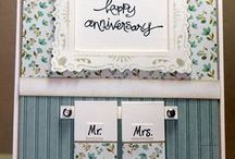 Mariage/ Bruiloft / Cards, digistamps, text