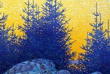 Canadian paintings - art and nature / Il gruppo dei sette e la bellezza dei paesaggi canadesi nella storia dell'arte