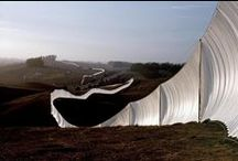 Christo&Jeanne-Claude / Land Art over the world