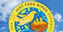 Just Feed Birds / It might be hard to believe that one person feeding birds in their yard can help restore the balance of nature. But it's true. Because in nature, everything is connected. And everything matters. So, just feed birds, and make a world of difference. http://drollyankees.com/product-category/just-feed-birds/