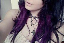 Colorfull hair & hair cuts
