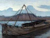 "Piet Mondrian - landscape paintings / I paesaggi di Piet Mondrian, prima delle celebri ""righe"""