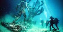 Damien Hirst - Venezia / Damien Hirst a Venezia: cosa viene alla luce dopo un mitico e colossale naufragio? https://lasottilelineadombra.com/2017/11/02/damien-hirst-venezia-naufragio-mostra/