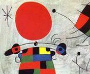 Joan Mirò - Surrealism / Quadri surrealisti di Joan Mirò