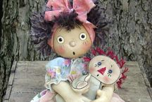 Dolls and Stuffed Animals / by Donna Squared