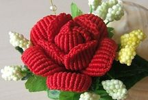 Crocheted Flowers / by Donna Squared