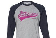 Shop YSC Merchandise / Show your support for young women affected by breast cancer and the work of Young Survival Coalition. Apparel for all ages, accessories and more. Every purchase supports YSC programs and services. / by Young Survival Coalition (YSC)