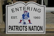 NEW ENGLAND PATRIOTS / by Terri LaValle